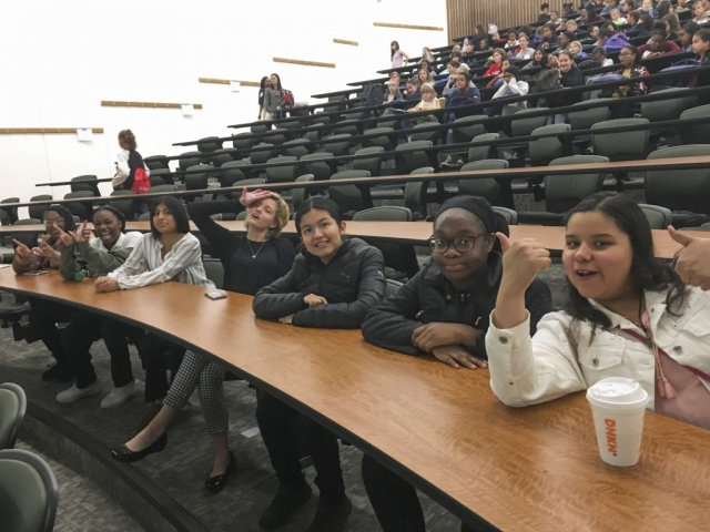 Our girls are ready to learn at the US Naval Academy!