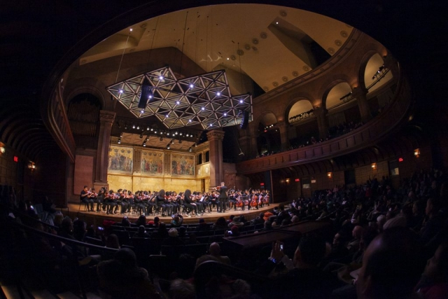 Foundation Collegiate Academy performs at Richardson Auditorium, Princeton University