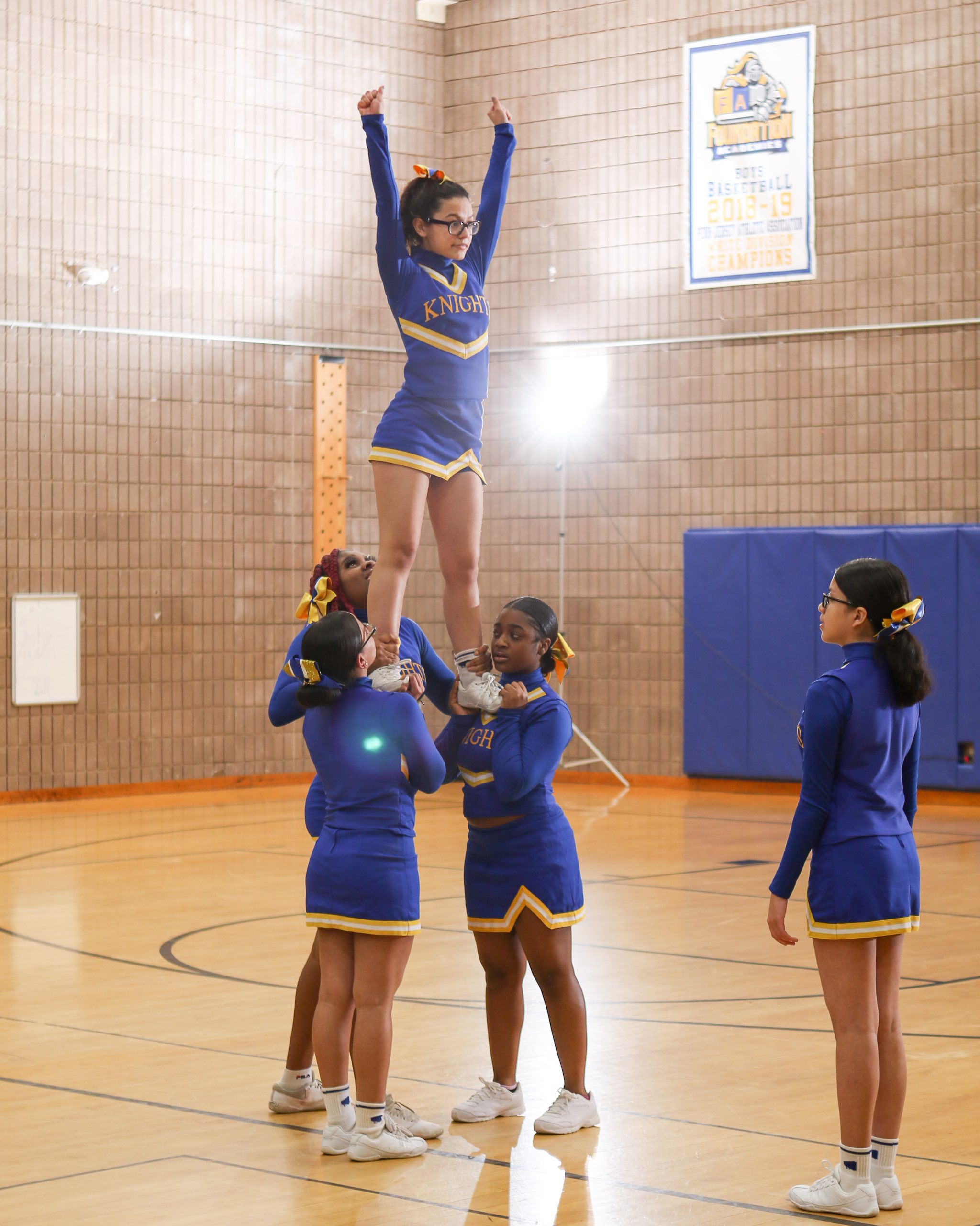 Foundation Collegiate Academy's Cheerleading Squad