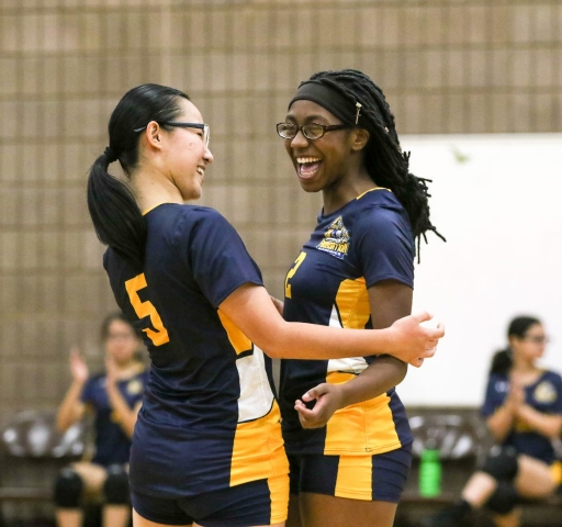Foundation Collegiate Academy's First-Ever Girls Volleyball Team