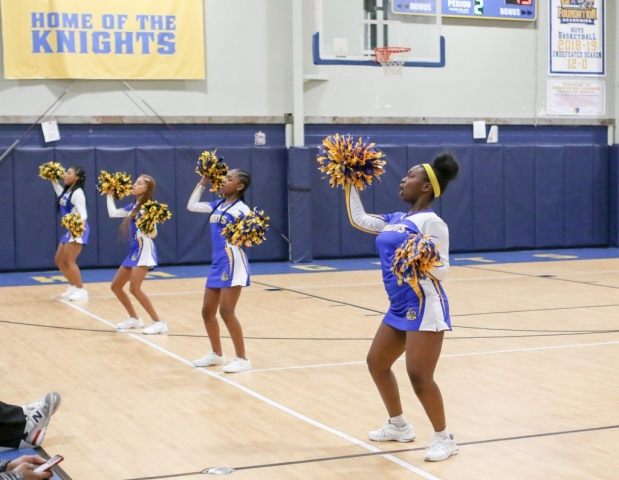 Foundation Academy Middle School Cheerleading Squad