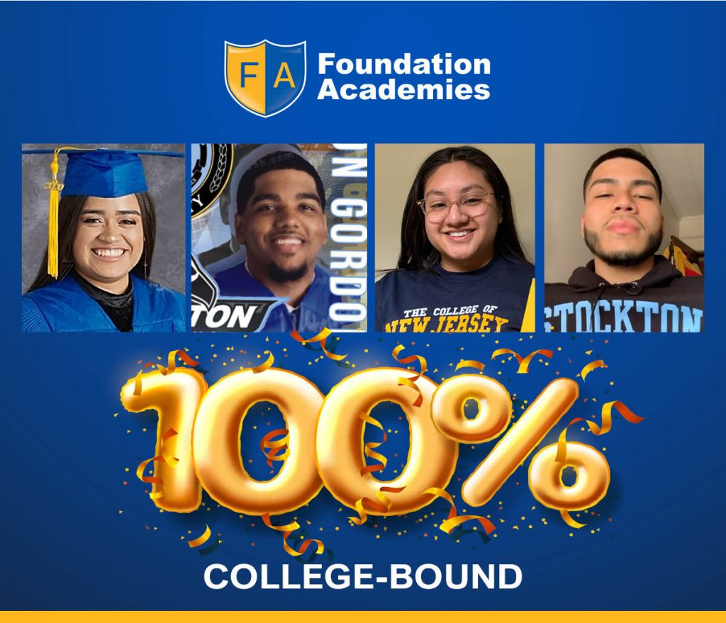 (From left to right) Mayrin Duran, Milton Gordon, Lilian Juan, and Christopher Alvarez are all heading off to college this fall! Congratulations, scholars!