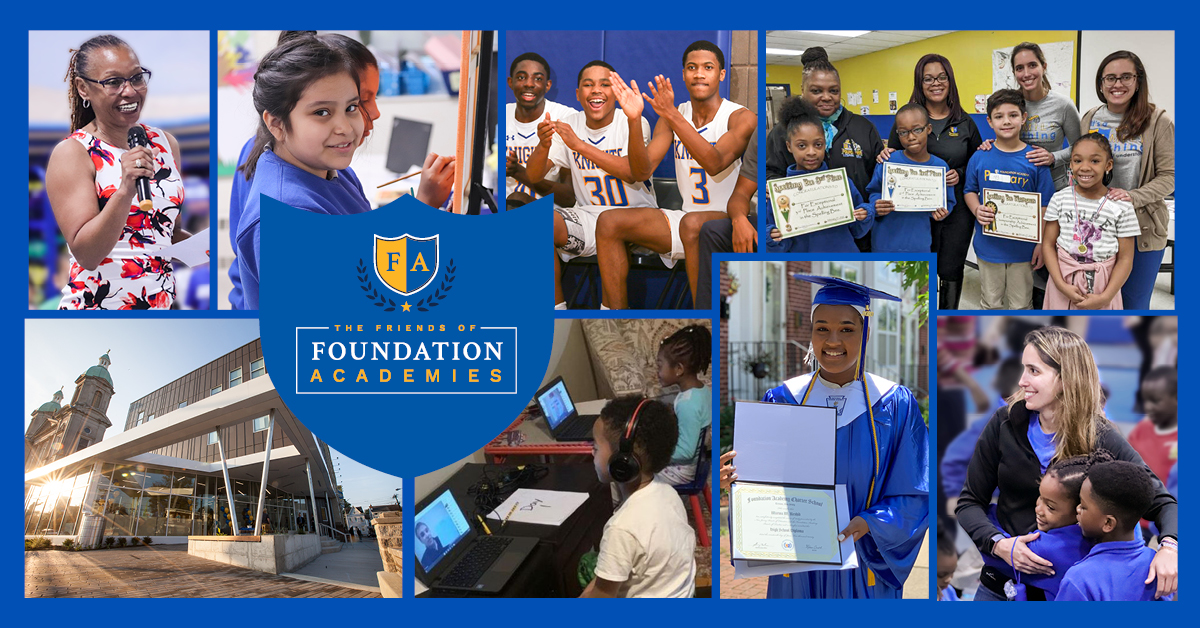 Change the Path of a Child's Life: Give to the Friends of Foundation Academies
