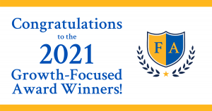 Congratulations to the Growth-Focused Award Winners!