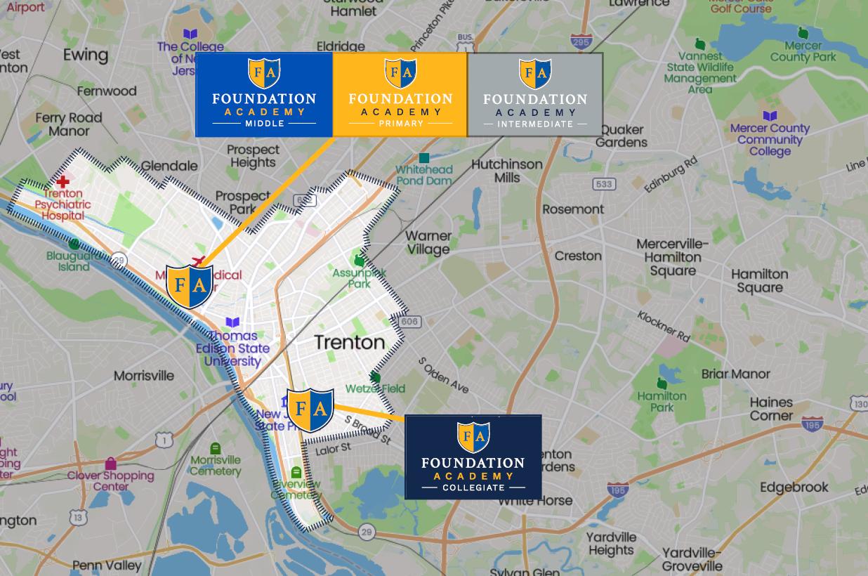 Foundation Academies locations - Trenton, NJ