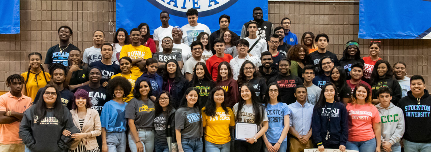 Class of 2019 on Senior Signing Day Foundation Academies
