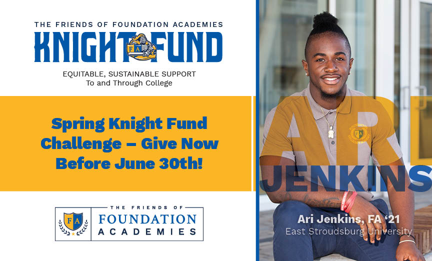 Knight Fund Spring 2021 Campaign with Ari Jenkins FA'21