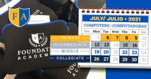 Computer pick up and drop off schedule July 2021