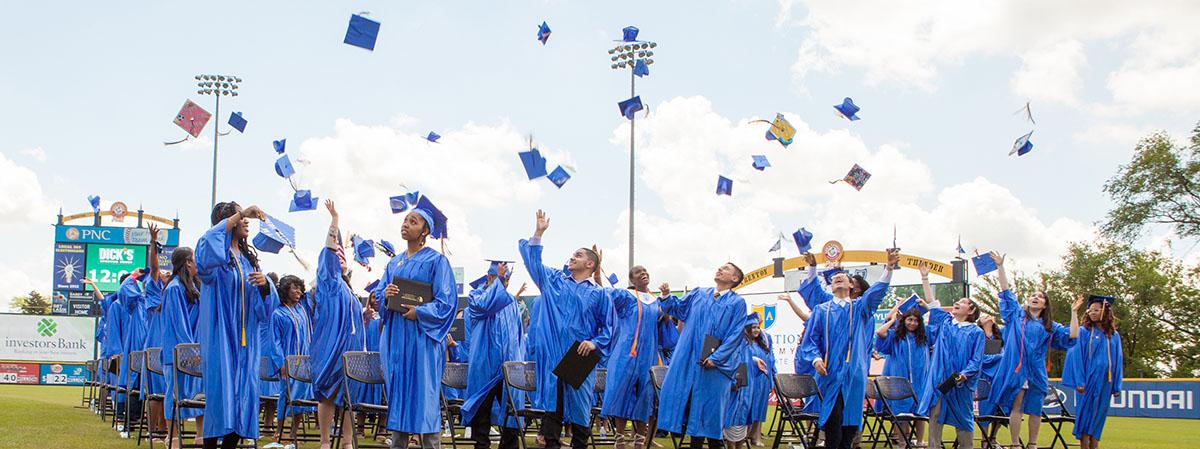 FA Collegiate graduation ceremony