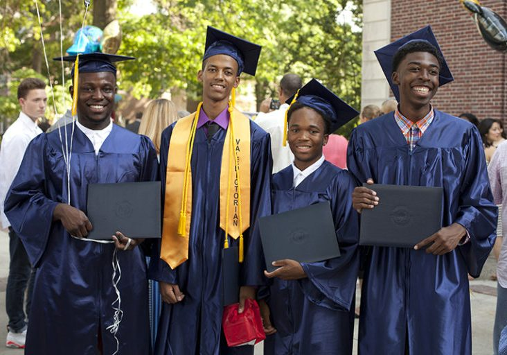 Graduation ceremonies for Foundation Collegiate Academy at Kendall Hall Friday, June 19, 2015 in Ewing, NJ.   Jody Somers / J Somers Photography LLC / www.JSomersPhotography.com